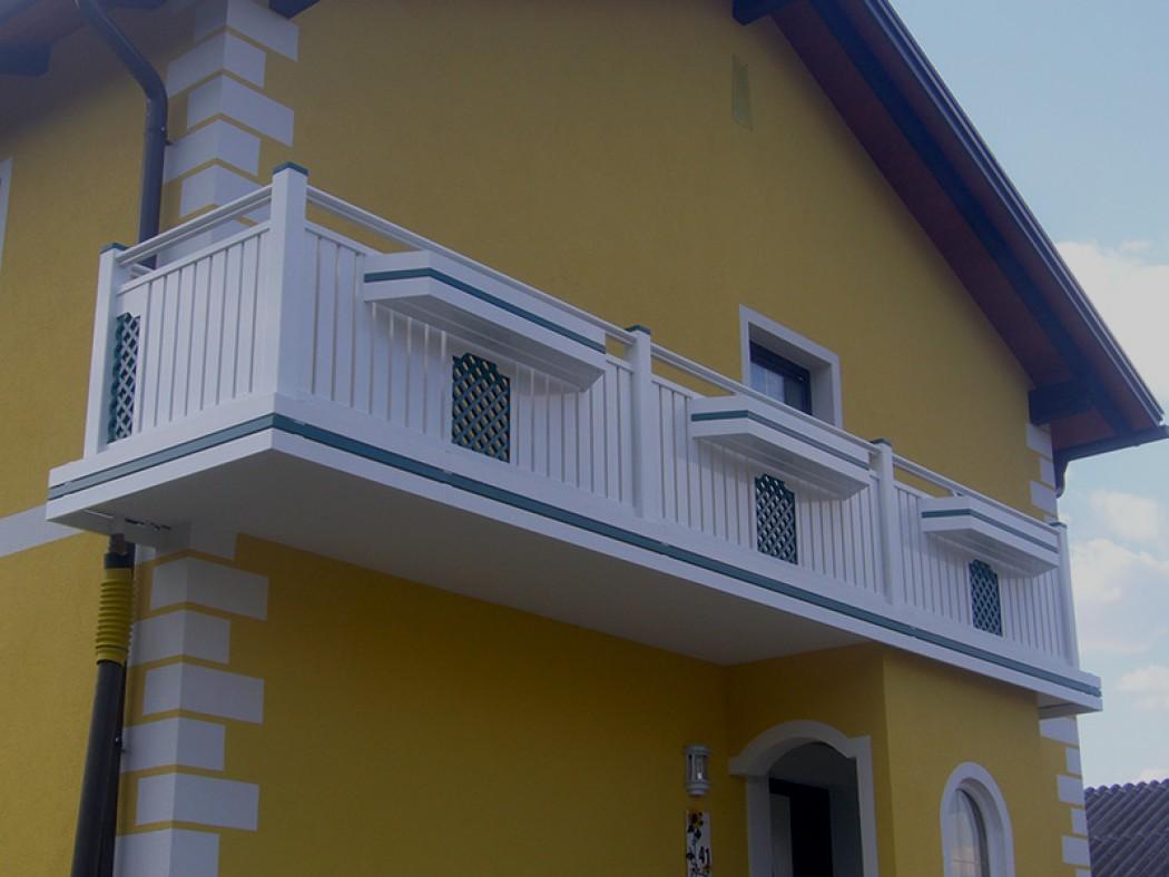 Aluminium Balkone in der Modellgruppe Elegant in der Modellgruppe Elegant mit der Nr 555