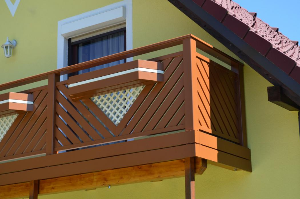 Aluminium Balkone in der Modellgruppe Elegant in der Modellgruppe Elegant mit der Nr 1451
