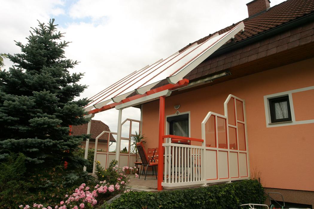Aluminium Balkone in der Modellgruppe Kompakt in der Modellgruppe Kompakt mit der Nr 984