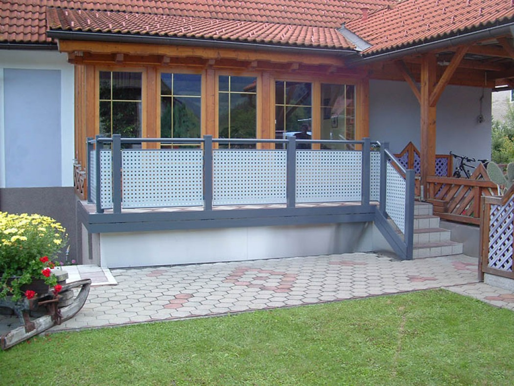 Aluminium Balkone in der Modellgruppe Design in der Modellgruppe Design mit der Nr 521