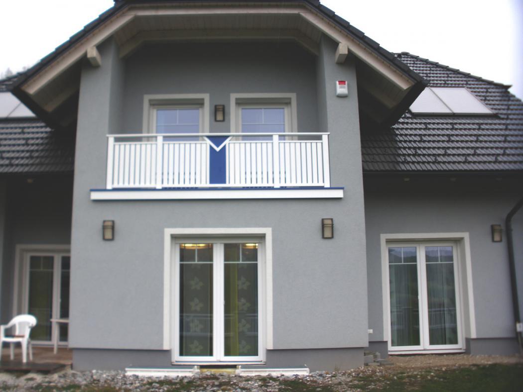 Aluminium Balkone in der Modellgruppe Kompakt in der Modellgruppe Kompakt mit der Nr 1525