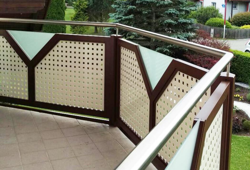 Aluminium Balkone in der Modellgruppe Design in der Modellgruppe Design mit der Nr 1202
