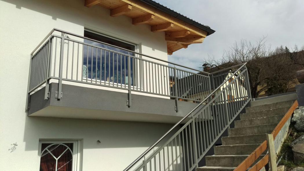 Aluminium Balkone in der Modellgruppe Kompakt in der Modellgruppe Kompakt mit der Nr 1418
