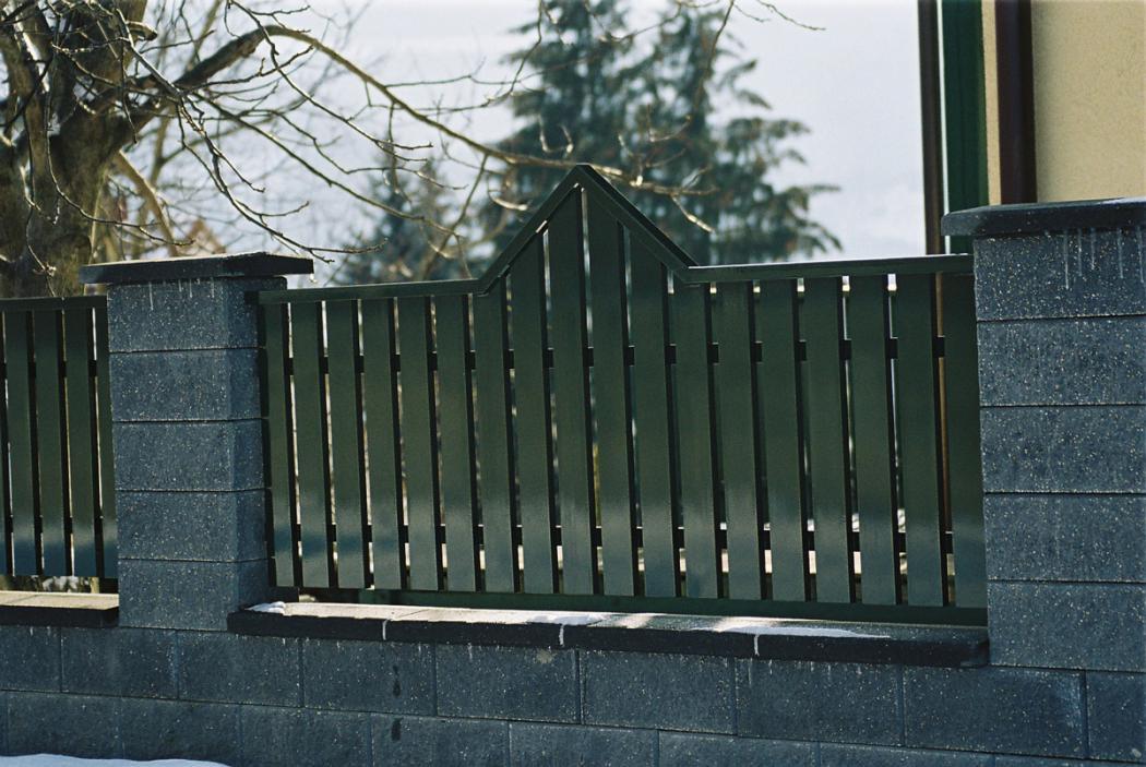 Aluminium Zäune in der Modellgruppe Elegant in der Modellgruppe Elegant mit der Nr 1170