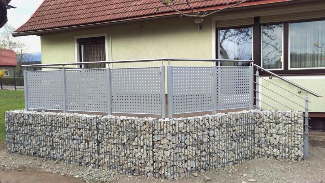 Aluminium Balkone in der Modellgruppe Design in der Modellgruppe Design mit der Nr 1056