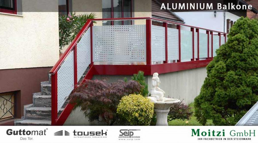 Aluminium Balkone in der Modellgruppe Design in der Modellgruppe Design mit der Nr 450