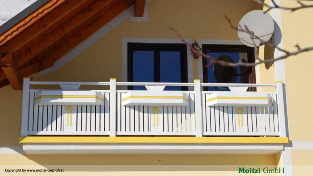 Aluminium Balkone in der Modellgruppe Kompakt in der Modellgruppe Kompakt mit der Nr 418