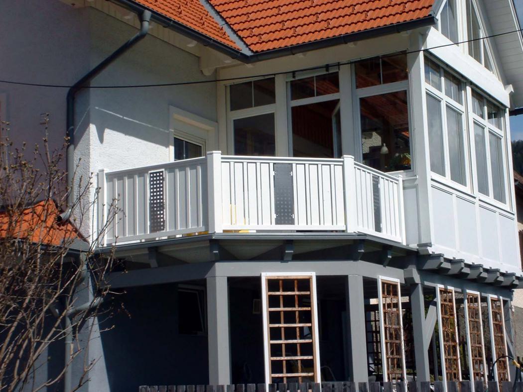 Aluminium Balkone in der Modellgruppe Kompakt in der Modellgruppe Kompakt mit der Nr 1213