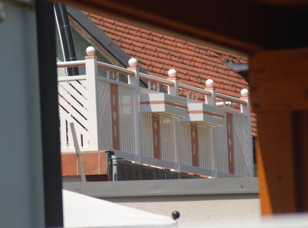 Aluminium Balkone in der Modellgruppe Kompakt in der Modellgruppe Kompakt mit der Nr 1255