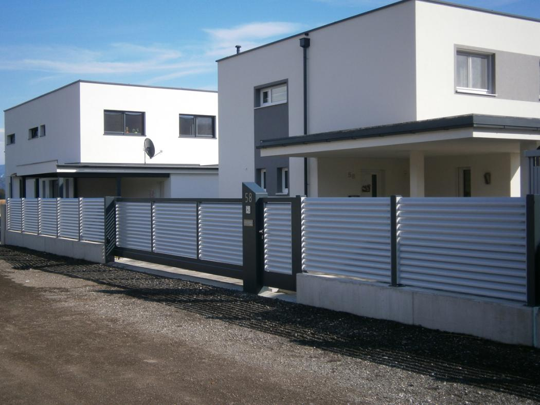 Aluminium Zäune in der Modellgruppe Design in der Modellgruppe Design mit der Nr 1098