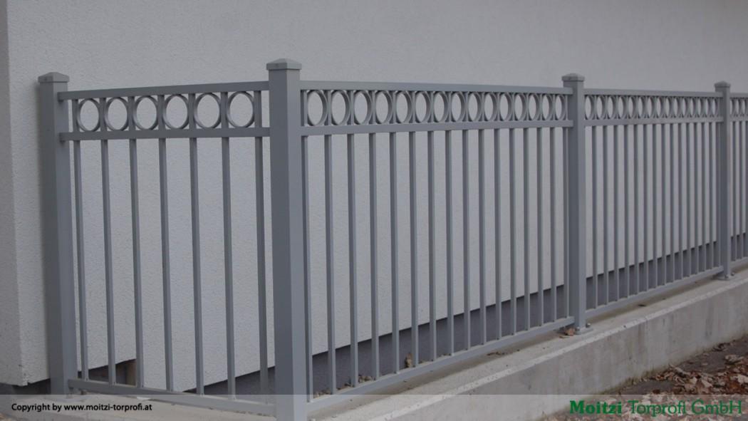 Aluminium Zäune in der Modellgruppe Kompakt in der Modellgruppe Kompakt mit der Nr 59