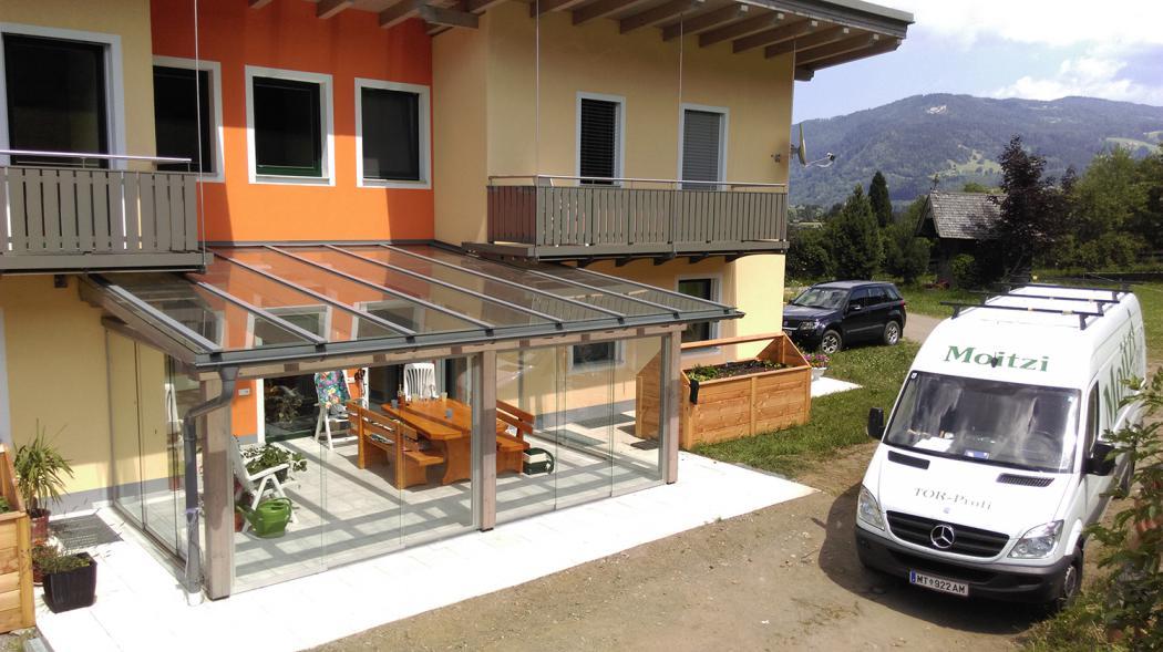 Aluminium Balkone in der Modellgruppe Kompakt in der Modellgruppe Kompakt mit der Nr 950
