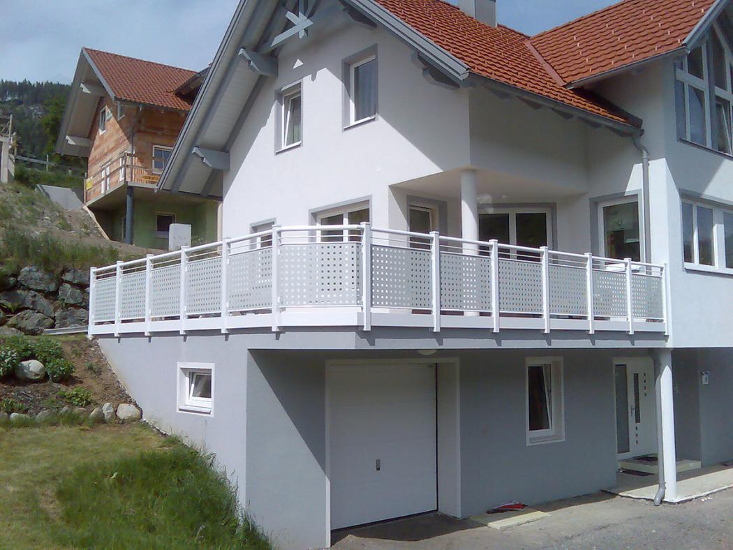 Aluminium Balkone in der Modellgruppe Design in der Modellgruppe Design mit der Nr 1000