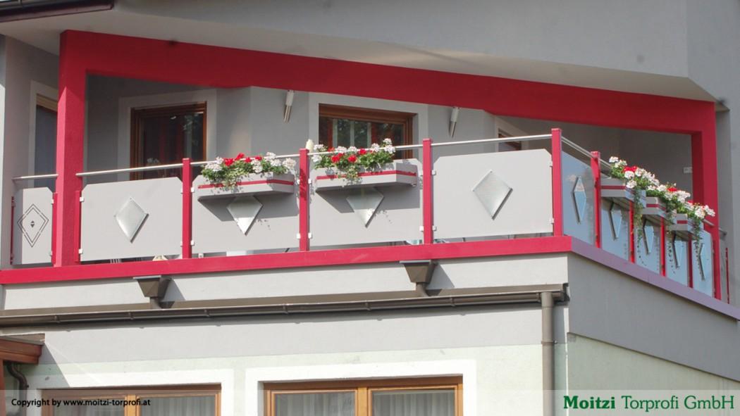 Aluminium Balkone in der Modellgruppe Design in der Modellgruppe Design mit der Nr 112