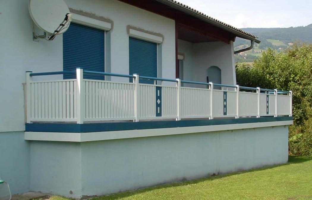 Aluminium Balkone in der Modellgruppe Kompakt in der Modellgruppe Kompakt mit der Nr 504