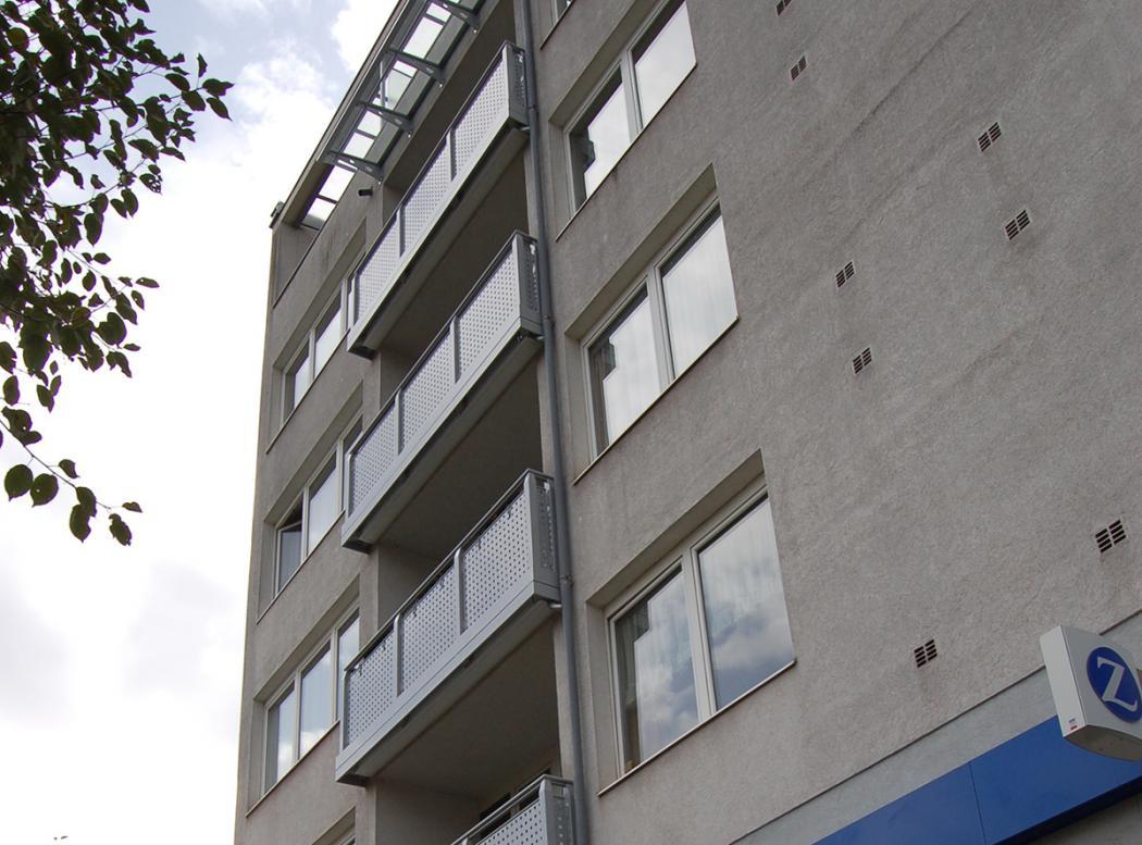 Aluminium Balkone in der Modellgruppe Design in der Modellgruppe Design mit der Nr 1027