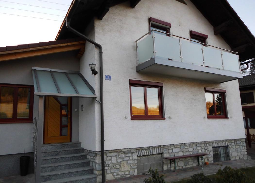 Aluminium Balkone in der Modellgruppe Design in der Modellgruppe Design mit der Nr 1413