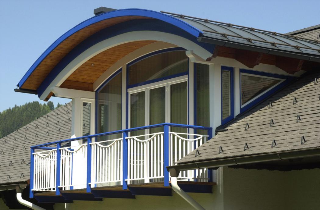Aluminium Balkone in der Modellgruppe Kompakt in der Modellgruppe Kompakt mit der Nr 1205