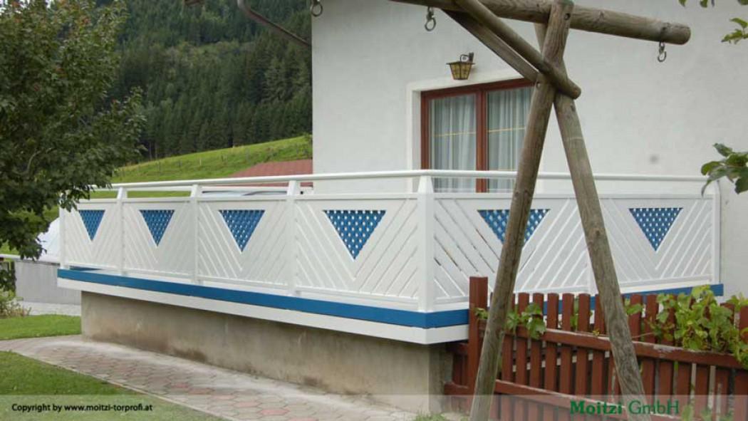 Aluminium Balkone in der Modellgruppe Elegant in der Modellgruppe Elegant mit der Nr 407