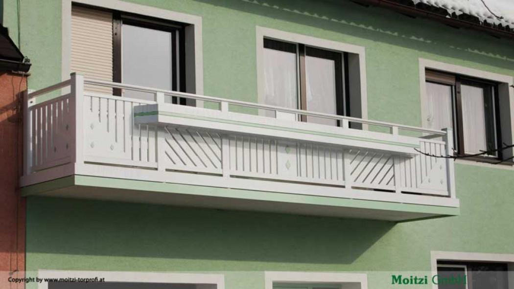 Aluminium Balkone in der Modellgruppe Kompakt in der Modellgruppe Kompakt mit der Nr 422