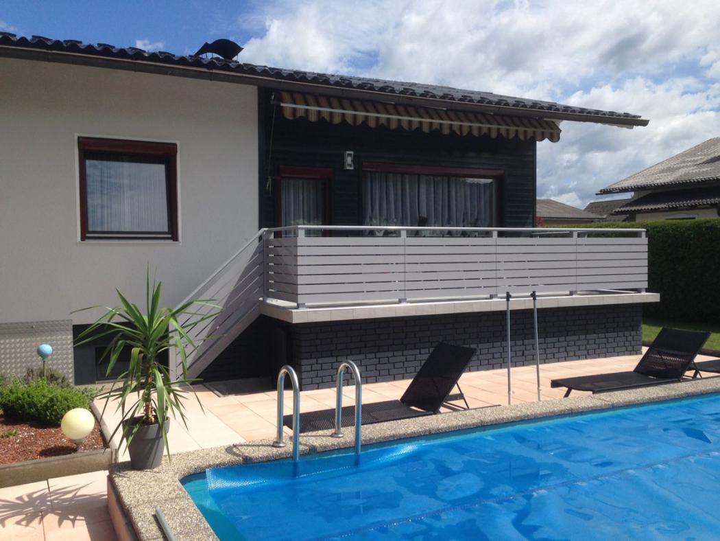Aluminium Balkone in der Modellgruppe Design in der Modellgruppe Design mit der Nr 1543
