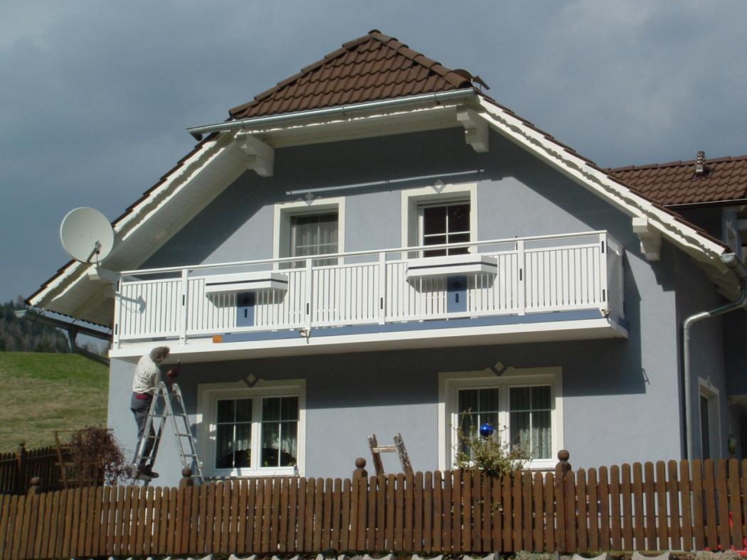 Aluminium Balkone in der Modellgruppe Kompakt in der Modellgruppe Kompakt mit der Nr 1264