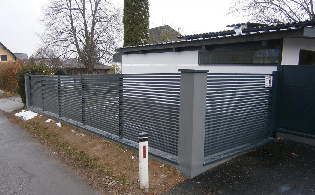 Aluminium Zäune in der Modellgruppe Design in der Modellgruppe Design mit der Nr 968