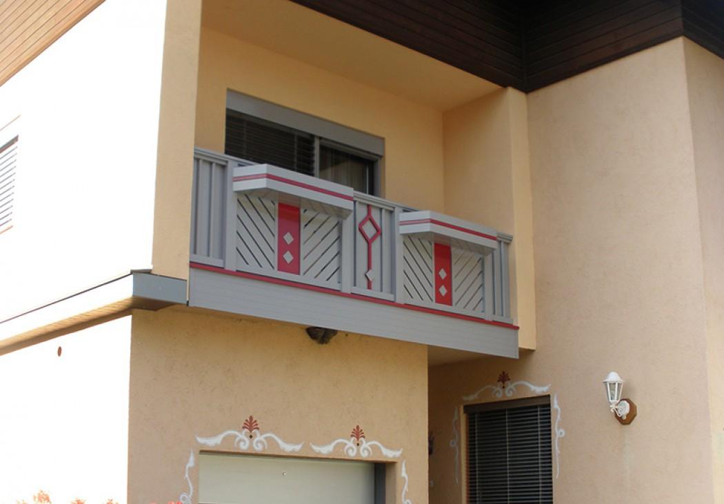 Aluminium Balkone in der Modellgruppe Kompakt in der Modellgruppe Kompakt mit der Nr 548