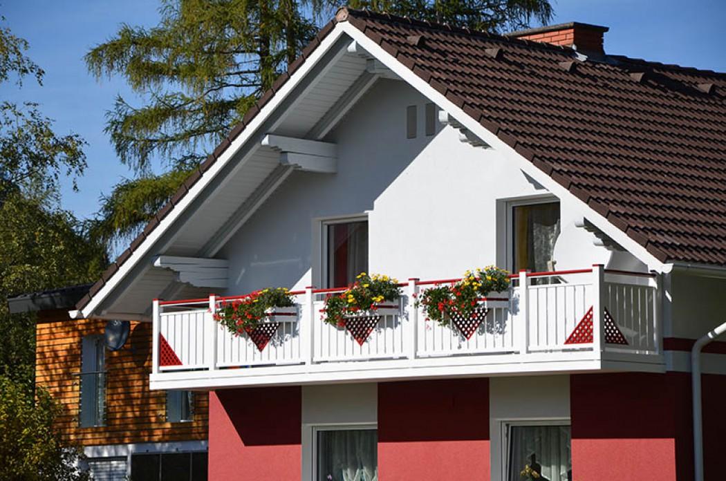 Aluminium Balkone in der Modellgruppe Elegant in der Modellgruppe Elegant mit der Nr 484