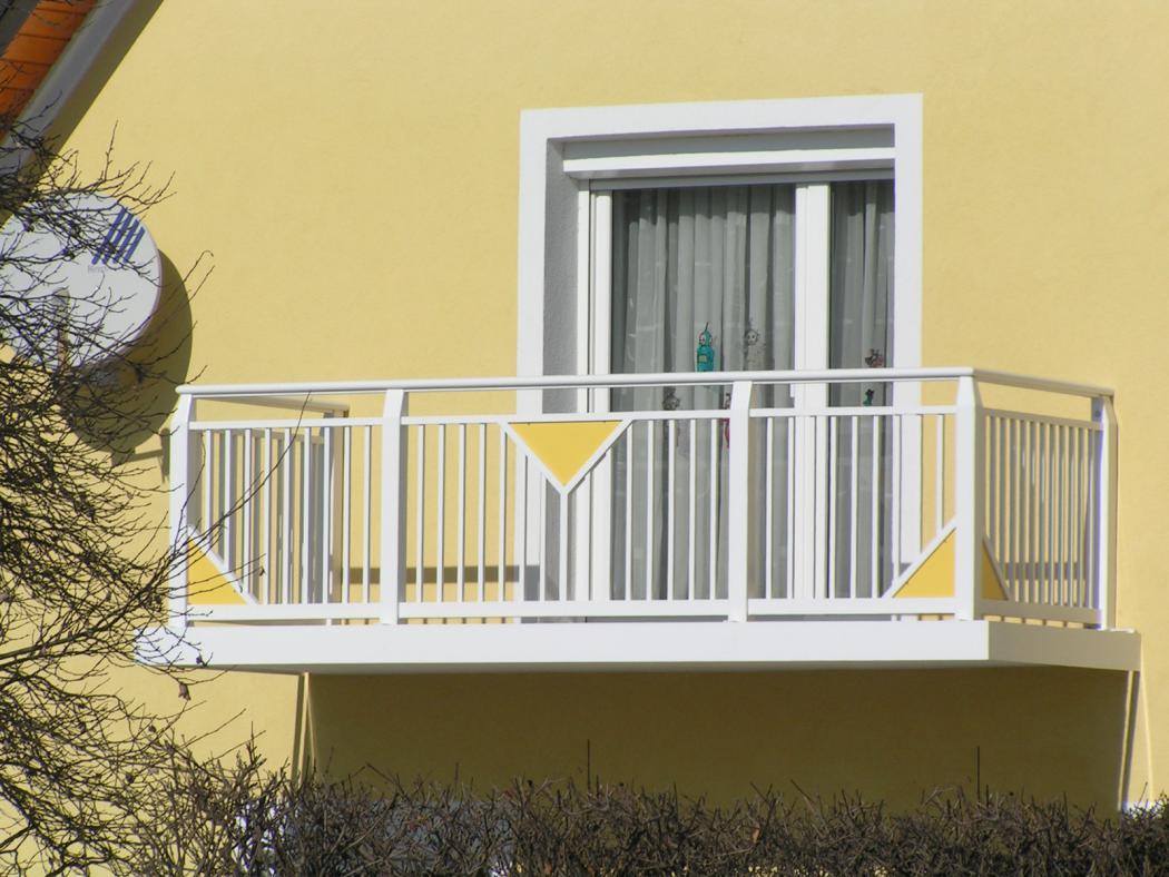 Aluminium Balkone in der Modellgruppe Kompakt in der Modellgruppe Kompakt mit der Nr 1198