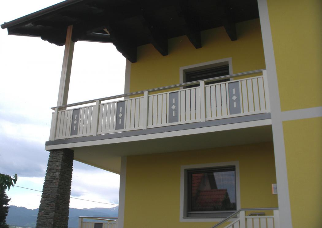 Aluminium Balkone in der Modellgruppe Kompakt in der Modellgruppe Kompakt mit der Nr 887