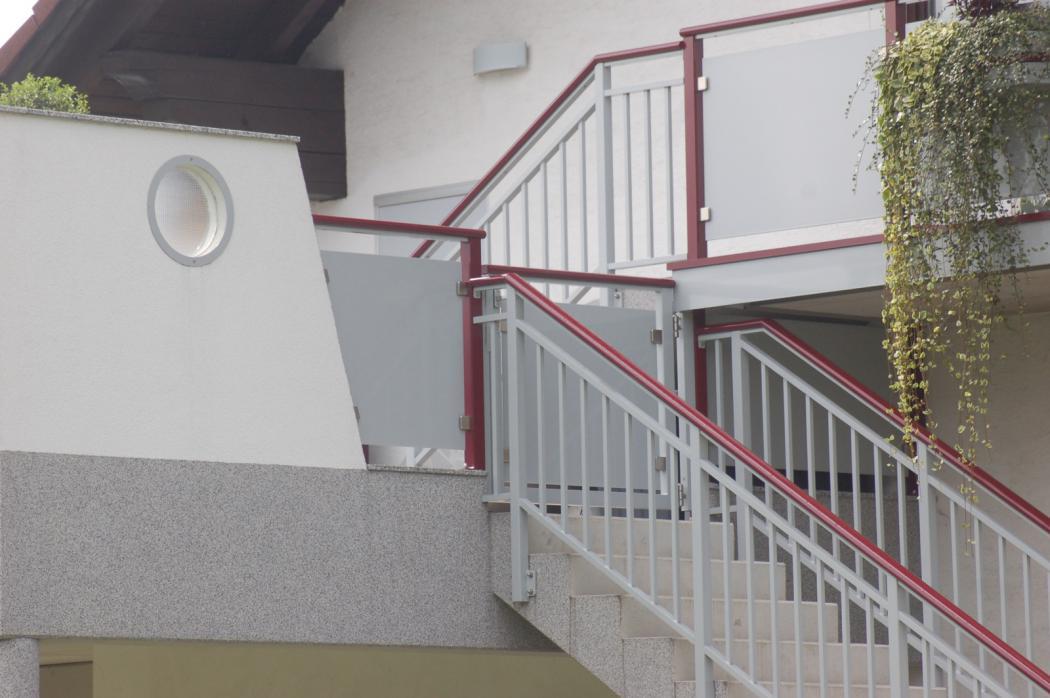 Aluminium Balkone in der Modellgruppe Kompakt in der Modellgruppe Kompakt mit der Nr 1195