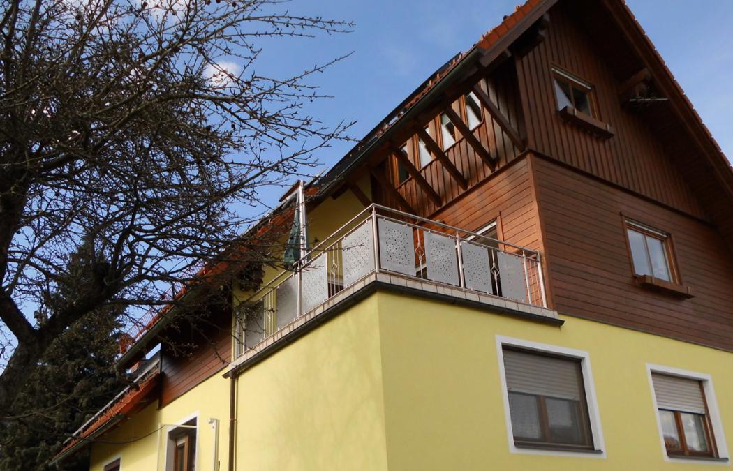 Aluminium Balkone in der Modellgruppe Design in der Modellgruppe Design mit der Nr 1415