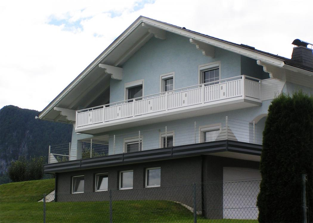 Aluminium Balkone in der Modellgruppe Kompakt in der Modellgruppe Kompakt mit der Nr 898