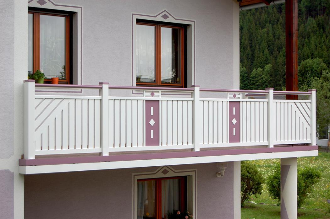 Aluminium Balkone in der Modellgruppe Kompakt in der Modellgruppe Kompakt mit der Nr 1018