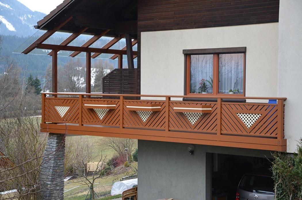 Aluminium Balkone in der Modellgruppe Elegant in der Modellgruppe Elegant mit der Nr 667