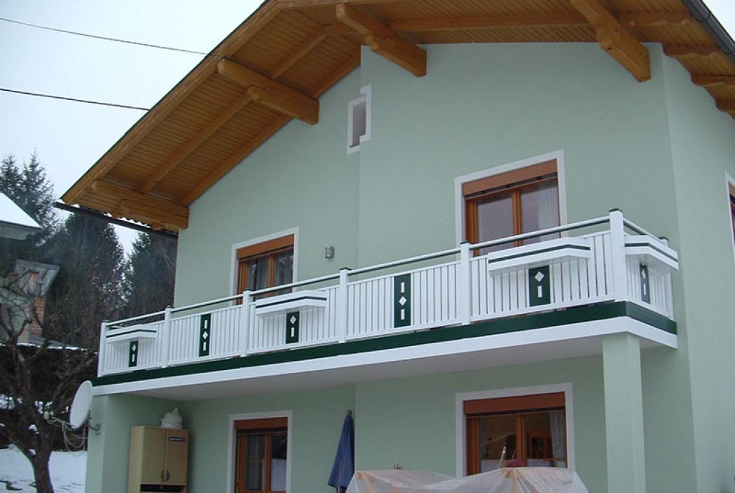 Aluminium Balkone in der Modellgruppe Kompakt in der Modellgruppe Kompakt mit der Nr 491