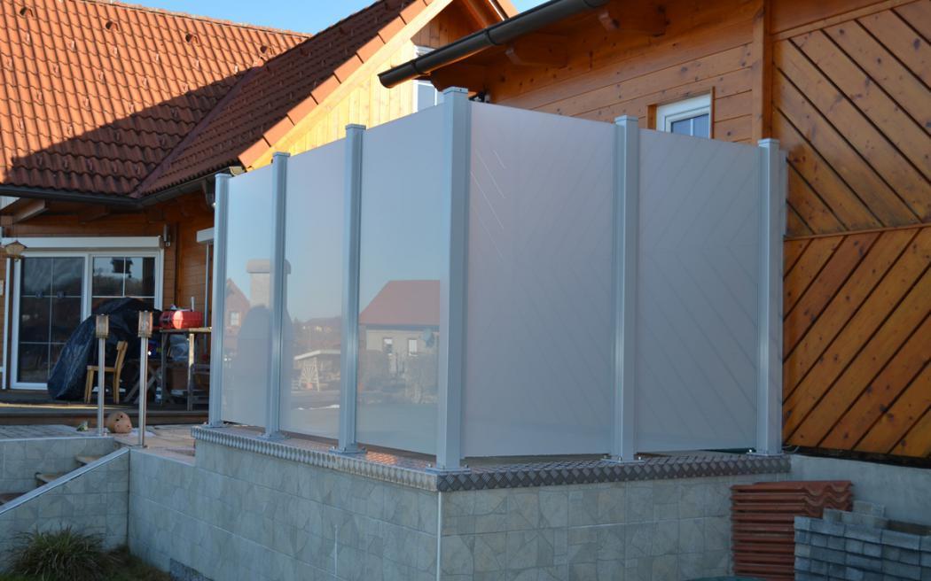 Aluminium Zäune in der Modellgruppe Design in der Modellgruppe Design mit der Nr 1427