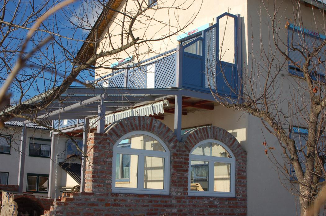Aluminium Balkone in der Modellgruppe Kompakt in der Modellgruppe Kompakt mit der Nr 1261