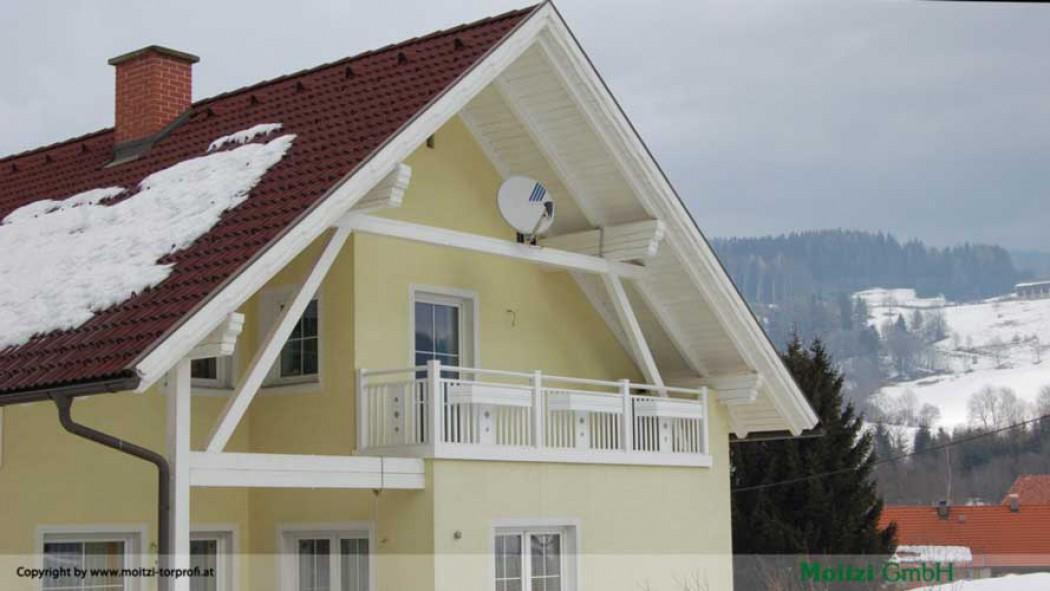 Aluminium Balkone in der Modellgruppe Kompakt in der Modellgruppe Kompakt mit der Nr 425