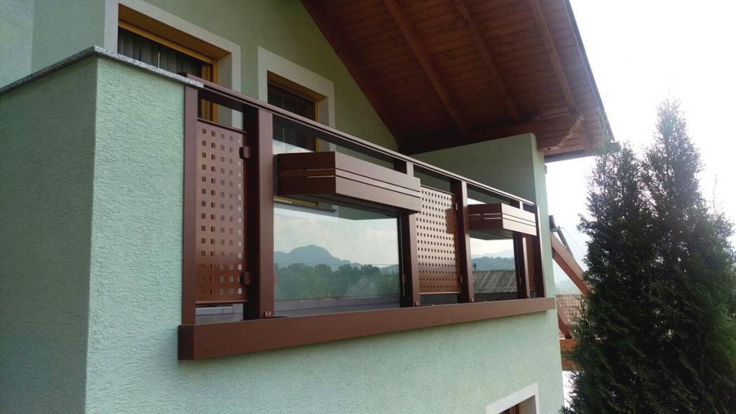 Aluminium Balkone in der Modellgruppe Design in der Modellgruppe Design mit der Nr 1377