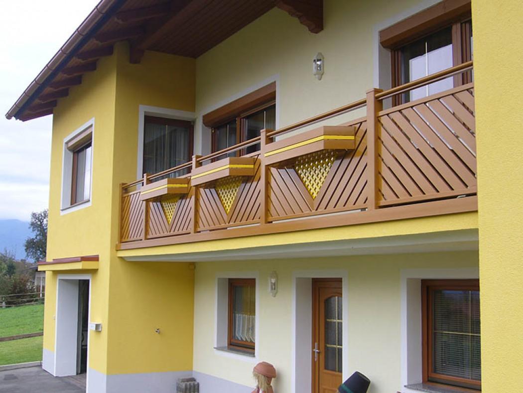 Aluminium Balkone in der Modellgruppe Elegant in der Modellgruppe Elegant mit der Nr 488