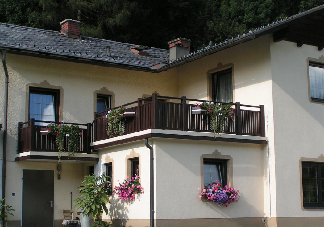 Aluminium Balkone in der Modellgruppe Kompakt in der Modellgruppe Kompakt mit der Nr 903