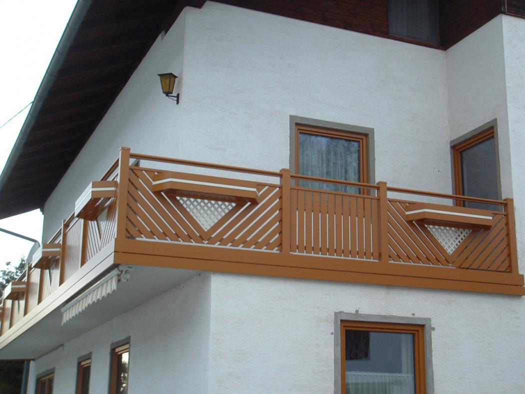 Aluminium Balkone in der Modellgruppe Elegant in der Modellgruppe Elegant mit der Nr 1243