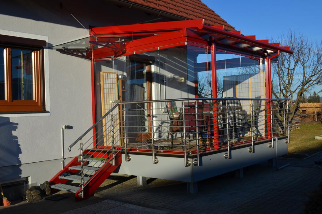 Aluminium Balkone in der Modellgruppe Design in der Modellgruppe Design mit der Nr 1539