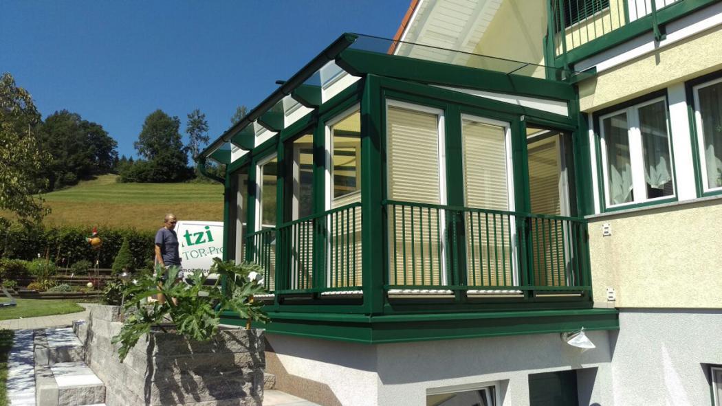 Aluminium Balkone in der Modellgruppe Kompakt in der Modellgruppe Kompakt mit der Nr 1521