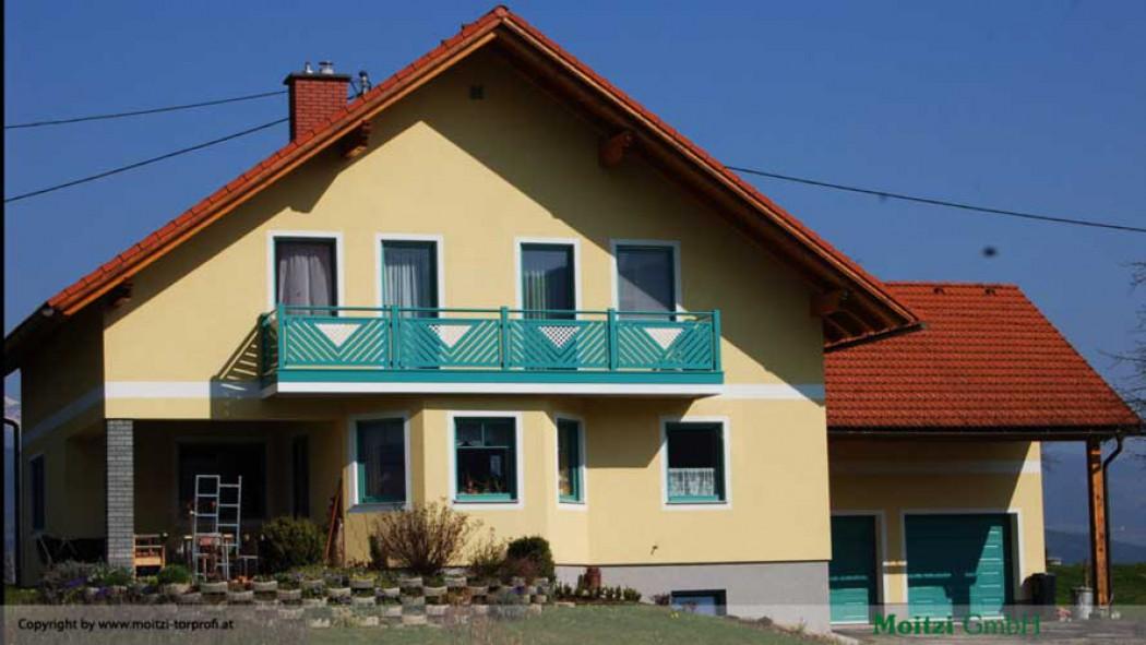 Aluminium Balkone in der Modellgruppe Elegant in der Modellgruppe Elegant mit der Nr 405