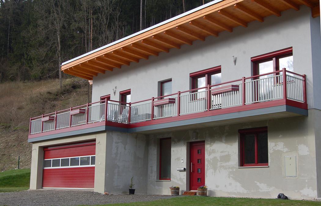 Aluminium Balkone in der Modellgruppe Kompakt in der Modellgruppe Kompakt mit der Nr 1012