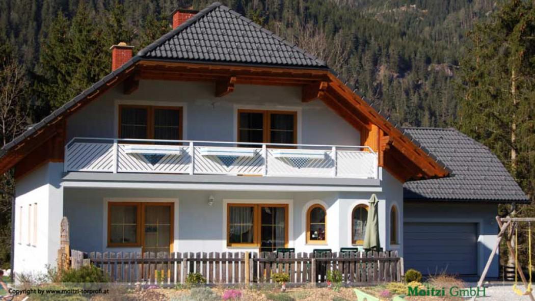 Aluminium Balkone in der Modellgruppe Elegant in der Modellgruppe Elegant mit der Nr 406