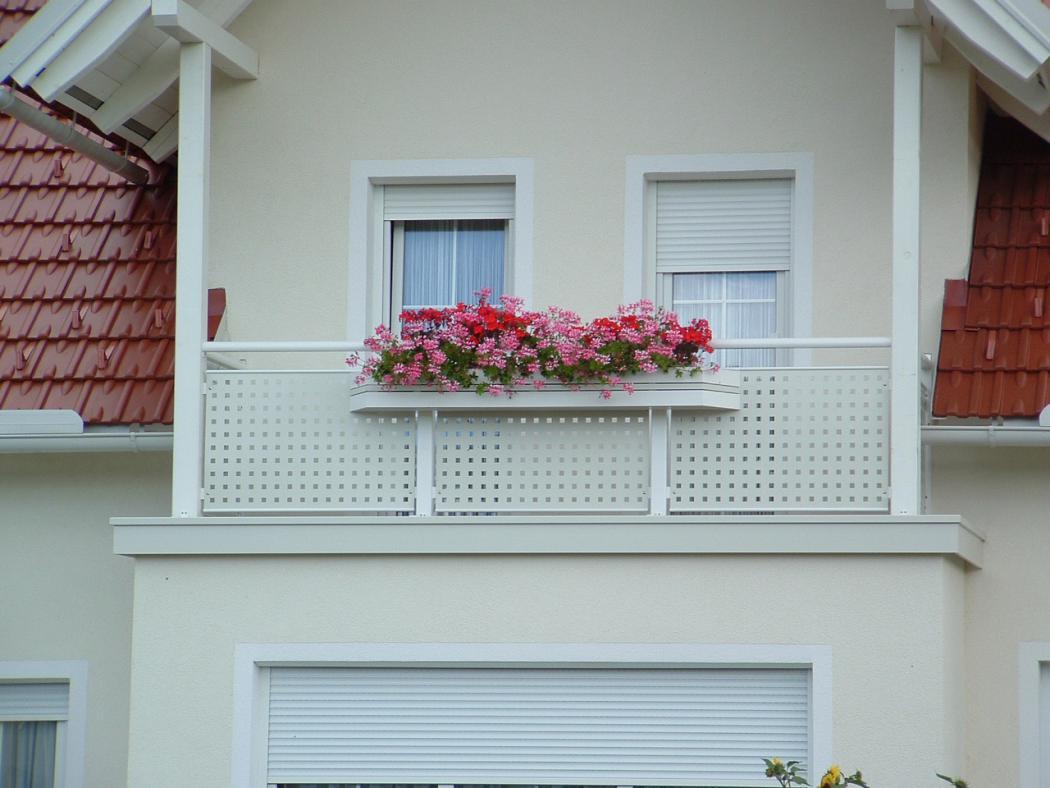 Aluminium Balkone in der Modellgruppe Design in der Modellgruppe Design mit der Nr 1251
